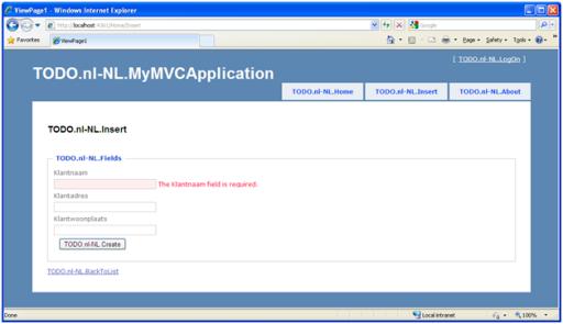 Mvc2 Entiteiten worden standaard niet vertaald