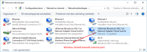 Windows 10 ICS